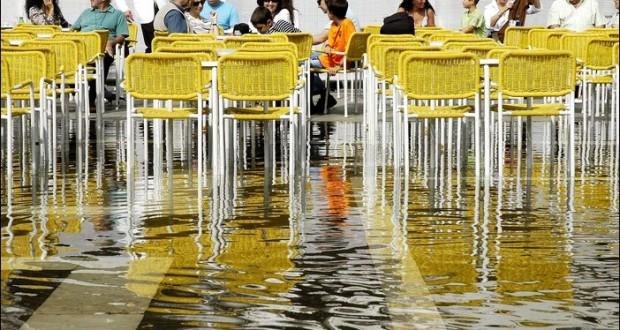Venise et l'Aqua Alta