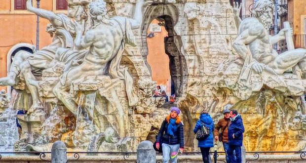 Cinq Jours à Rome – 1/5 Le Parione et la boucle du Tibre