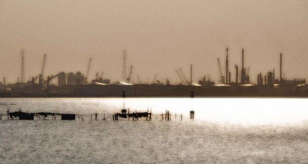 Lagune de Venise : l'industrialisation