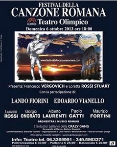 Festival de la chanson Romaine – Hommage à Franco Califano
