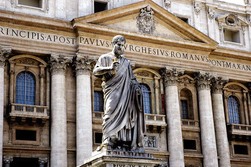 La basilique saint pierre italie decouverte for Exterieur basilique saint pierre