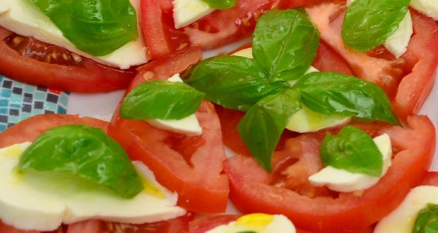 Caprese, la salade aux couleurs de l'Italie