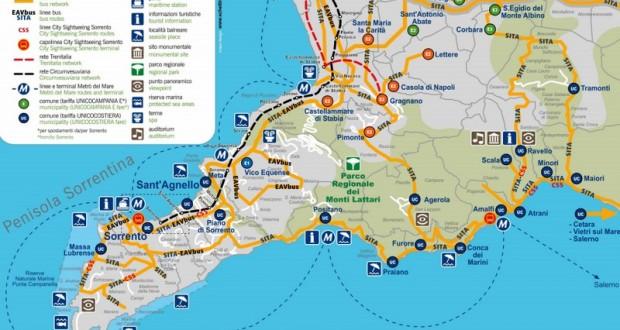 Se déplacer autour de Naples (3) – La côte Amalfitaine