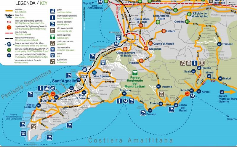 Se Deplacer Autour De Naples 3 La Cote Amalfitaine