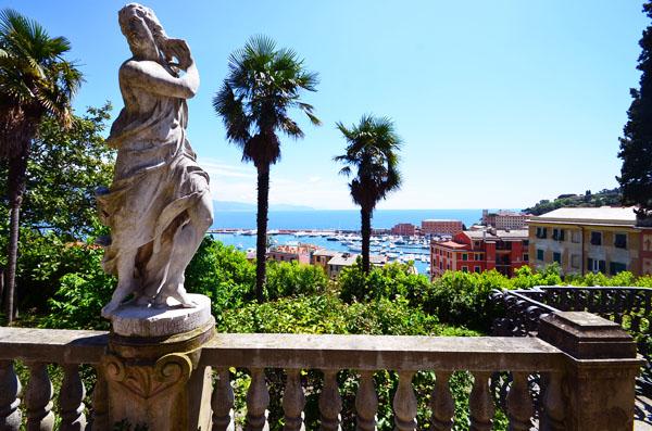 Le jardin de la Villa Durazzo