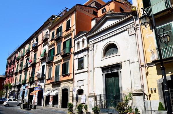 Le centre de Gragnano