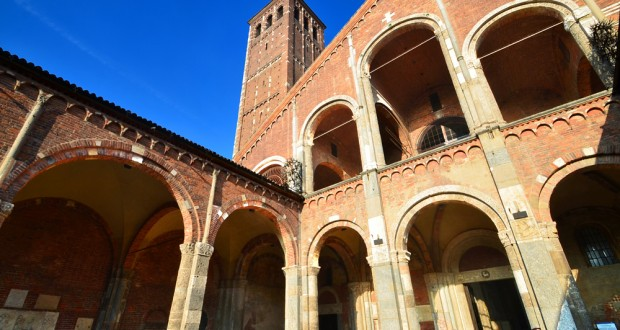 Sant' Ambrogio, basilique paléochrétienne à Milan