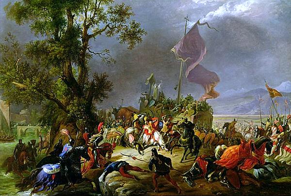La bataille de Legnano par Massimo d'Azeglio
