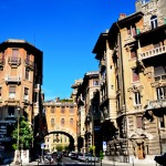 Le quartier Coppedè à Rome