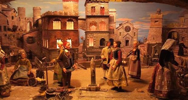 Gênes et ses crèches de Noël