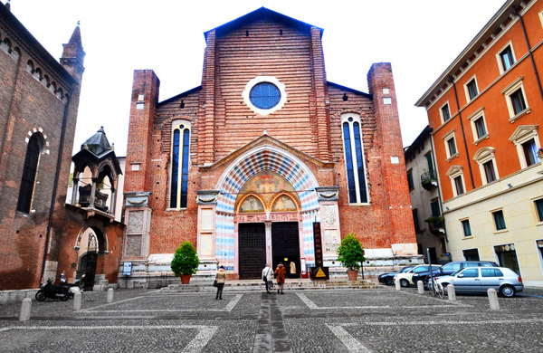 L'église Santa Anastasia