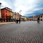 Piazza Bra et les Arènes