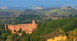 Au sud de Sienne : Monte Oliveto Maggiore