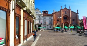 Asti, cité médiévale en Piémont