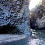 Au pied de l'Etna, les Gorges de l'Alcantara