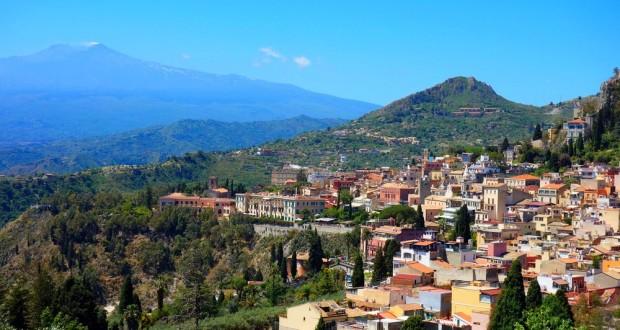 Taormina, l'Etna et le théâtre antique