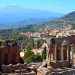 Taormina - Le théâtre antique