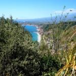 Taormina - le littoral et les plages