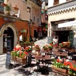 Taormina - Terrasse