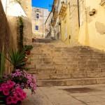 Rue en escaliers